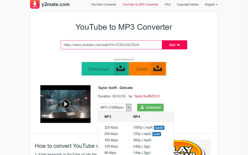 7 Best Youtube To Mp3 Converters Free Online