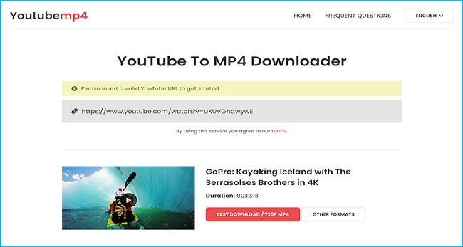 Online YouTube Video Converter: YouTubeMP4